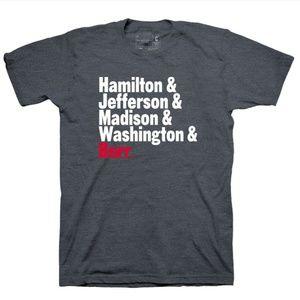 Hamilton the Musical T-Shirt Official Merch - S